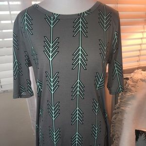 Lularoe Large Julia Arrow Dress